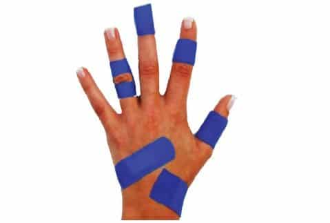 x-ray and metal detectable bandages
