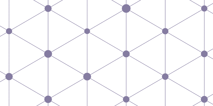 Geometric grey shapes