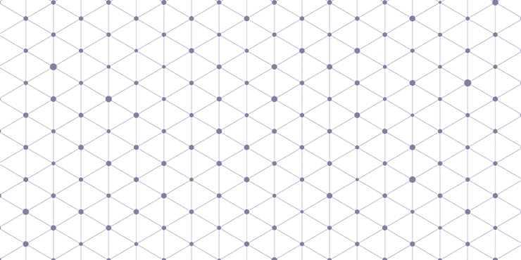 Fine geometric grey shapes
